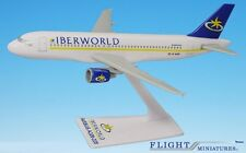 Iberworld A320-200 Airplane Miniature Model Plastic Snap-Fit 1:200
