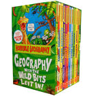 Horrible Geography Collection 12 Childrens Books Box Gift Set Pack