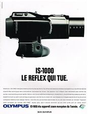 Publicité Advertising 1991 Appareil photo Olympus IS-1000