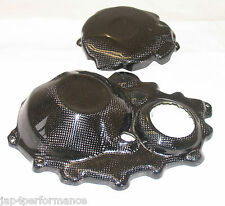 HONDA CBR1000RR CARBON KEVLAR ENGINE CASE COVER SET CBR1000 CBR 1000