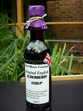 ELDERBERRY SYRUP/CONCENTRATE Vitamins & Minerals,Gluten Free FLU & COLD RELIEF