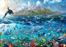TROPICAL SEA LIFE UNDERWATER OCEAN FISHES Photo Wallpaper Wall Mural 335X236cm