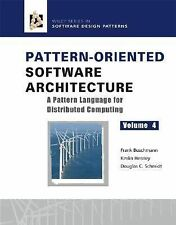 Pattern-Oriented Software Architecture Volume 4: A Pattern Language for Distribu