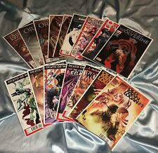 WOLVERINE~16 BOOK SET~DEATH OF+ORIGINS II+LOGAN+SAVAGE~#1 DEATH SIGNED PONSOR~NM