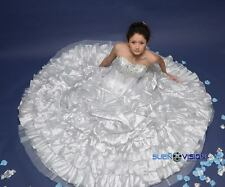 Marys Bridal Prom Quinceanera Sweetheart Ball Gown Dress Ice Silver Metallic