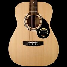 Cort AF510OP Folk Acoustic Guitar in Natural Satin with Gigbag