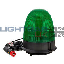 Magnetic Mount Digger Plant Rotating Flashing Seatbelt LED Strobe Beacon Green