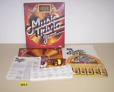 1984 Ideal Solid Gold Music Trivia Game Knowledge of Music and its Roots