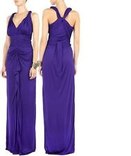 Alice by Temperley Dolores Maxi Dress in Purple Sample Size 12     ......#*5