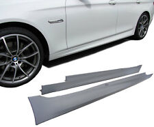 BMW F10 F11 M sport SIDE SKIRTS SIDESKIRTS ABS SILL COVERS M5 M-Sport Tech