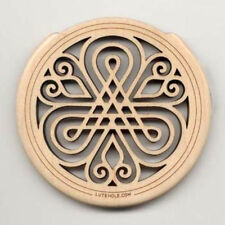 Lute Hole Soundhole Cover Number 2 Maple
