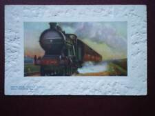 POSTCARD GREAT NORTHERN RLY KINGS CROSS TO LEEDS EXPRESS EMBOSSED