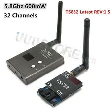48Ch 5.8G 600mw 3.5km Wireless AV Transmitter TS832 Receiver RC832 for FPV New