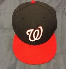 Washington Nationals NEW ERA fitted MLB AUTHENTIC baseball hat SIZE 7 1/2