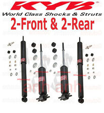 4-KYB Excel-G®  Shocks  2-Front & 2-Rear Camaro Firebird with Leaf Spring