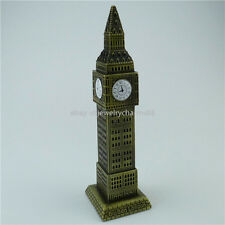 7 inch 3D Hollow Model London Big Ben Bell Clock Elizabeth Tower Desk Decoration