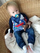 REALISTIC REBORN BABY Lucas from Donna Rubert's Tibby 24 month baby