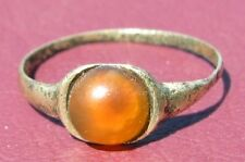 Metal Detector Find  Authentic Ancient FINGER RING Sz: 5 US 15.75mm 0913 DR