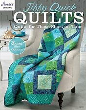 Jiffy Quick Quilts: Quilts for the Time Challenged (pb) By Annie's Quilting NEW