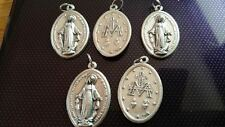 5x Virgin Mary charms Catholic Saint charm Vatican City medal medallion