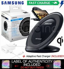 Samsung Wireless Fast Charge Qi Charging STAND Pad for Galaxy S6 S7 edge+ Note 5