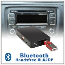 Bluetooth Handsfree A2DP USB MP3 adapter-VW 12pin RNS300 510 MFD2 Monsoon Delta6
