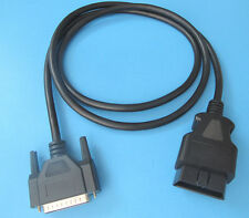 Replacement OBD2 OBDII Cable Computer Scanner Blue Point BluePoint YA3120 YA3140