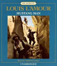 Louis L'Amour MUSTANG MAN - Sacketts Unabridged CD  *NEW* FAST 1st Class Ship!