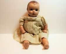 Vintage/Antique HORSMAN Composition Doll Baby Toddler Doll sleep Eyes 18 inch