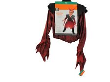 Kids Demonic Devil Halloween Costume Medium (6-8) with Light Up Mask!