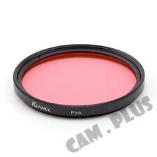 62mm Color Pink Camera Lens Filter For Nikon Pentax Olympus Canon Sony