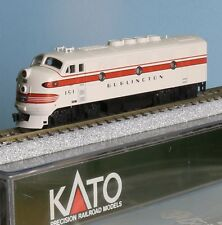 Kato 106202-01, piste N, us élancé, EMD F 2a CB & q, Chicago, Burlington & quincy