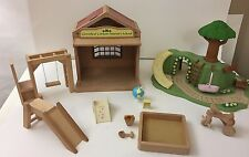 Cloverleaf Corners Nursery School Calico Critter Baby's Room+Playground Lot