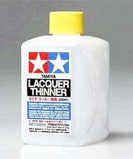 TAMIYA 87077 Lacquer Thinner 250ml for PLASTIC MODEL KIT CRAFT TOOLS