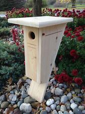 Peterson Cedar Bluebird house nesting box, white cedar