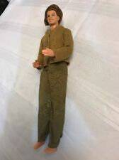 mattel ken doll 1991 head 1968 body Brown Army Pajamas green Pants Shirt