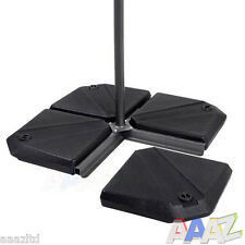 Parasol Base Stand Weights for Banana Cantilever and Hanging Umbrella Parasols