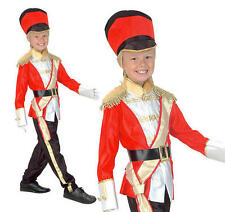 Childrens Classic Toy Soldier Fancy Dress Costume World Book Day Outfit Kids S