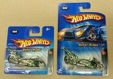Hot Wheels 2005 Rebel Rides Fright Bike 80 New 5 of 5 SHORT & LONG Rare Lot