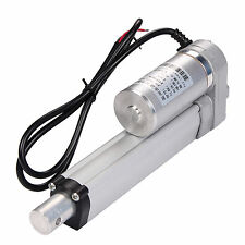 "Heavy Duty DC12V 100mm 4"" Linear Actuator Motor 1500N Stroke Max Lift For Autos"