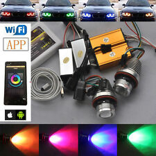 Wifi phone control LED Angel Eyes RGB halo ring for BMW E39 E53 E60 E61 E63 E65