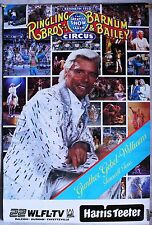 """RINGLING BROTHERS GG Williams Farewell Tour 1989 rolled  24"""" x 37"""""""