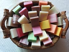 28 x 100g natural soap bars 100% Australian made Free post Wholesale 15 Scents