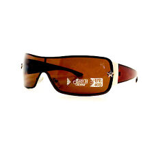 RICH & FAMOUS Eyewear Fashion Polarized Sunglasses Gold Star NEW