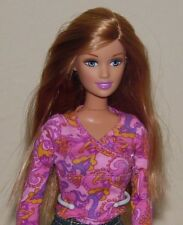 Barbie ~Barbie Doll Skirt Top Shoes Happy Family Midge Baby Play All Day Nursery