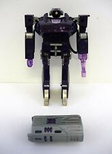 TRANSFORMERS SHOCKWAVE Vintage G1 Action Figure Commander Hasbro COMPLETE 1985