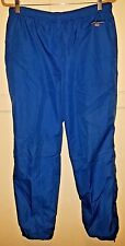 Vintage Polo Sport Ralph Lauren flag spell out blue windbreaker pants size Large