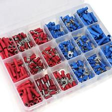 New 360Pcs Assorted Insulated Electrical Wire Terminals Connectors Crimp Spade