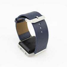 Real Leather Wristbands band Bracelet Strap Buckle 2 Pins for Fitbit Blaze Watch