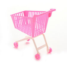 1 X Shopping Cart for Barbie Classic Toys Trolleys Kids Girls Birthday Gift K66